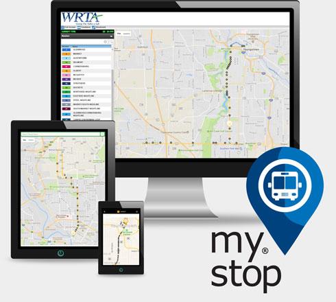 WRTA Bus Tracker Smartphone App