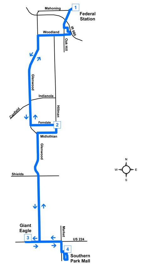 Route #36 Glenwood