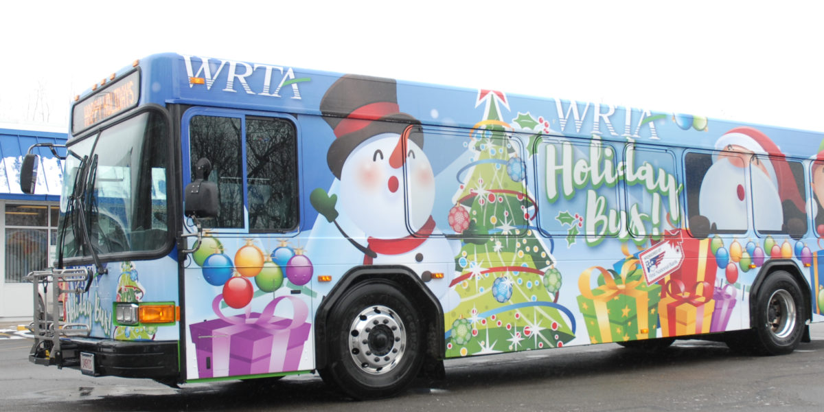 Last Chance To Ride The Holiday Bus First Night New Year