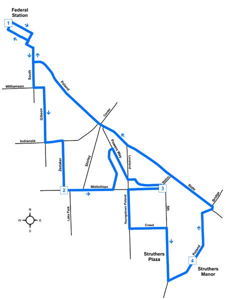Route #33 Buckeye-Struthers