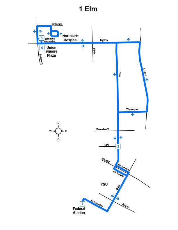 Route #1 Elm