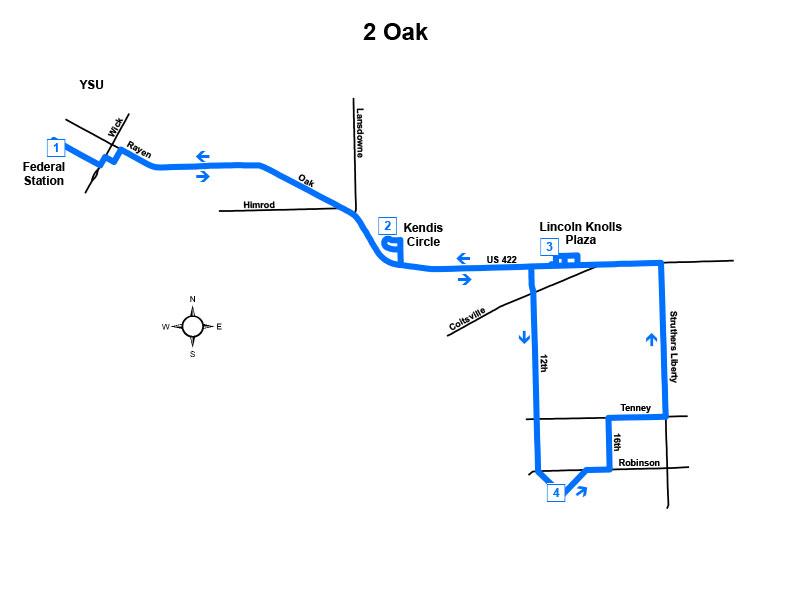 Route #2 Oak