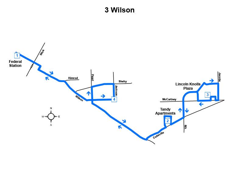 Route #3 Wilson