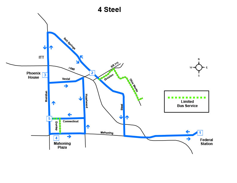 Route #4 Steel