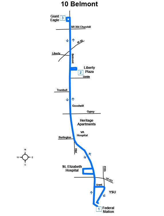 Route #10 Belmont