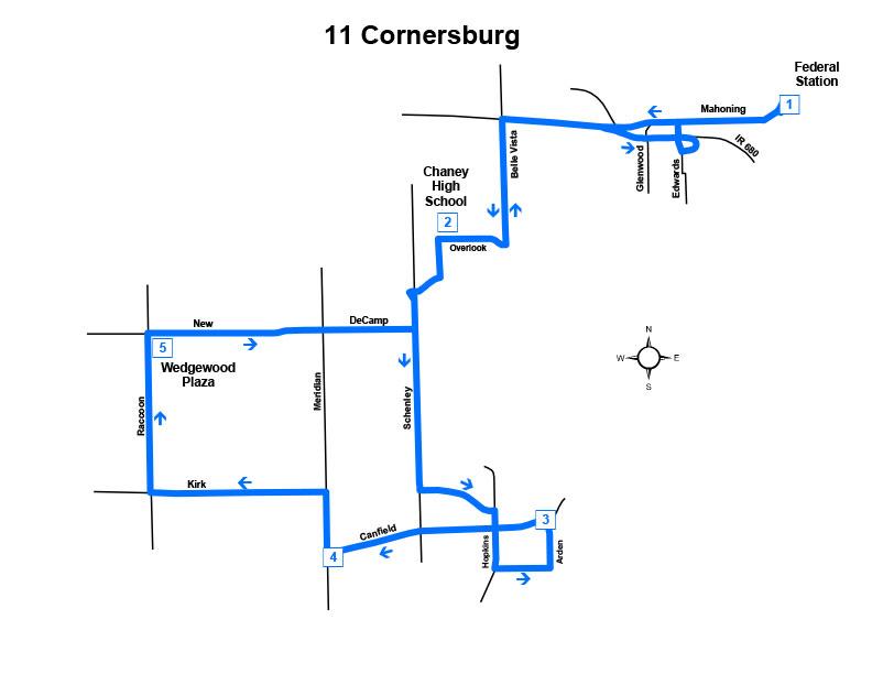 Route #11 Cornersburg