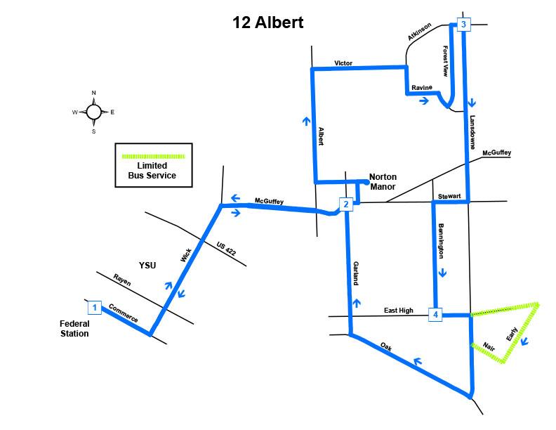 Route #12 Albert