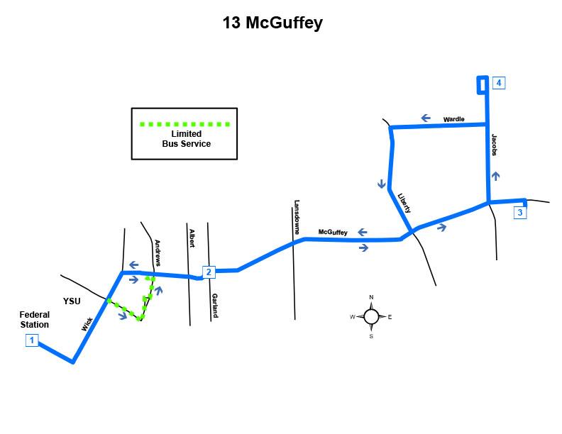 Route #13 McGuffey