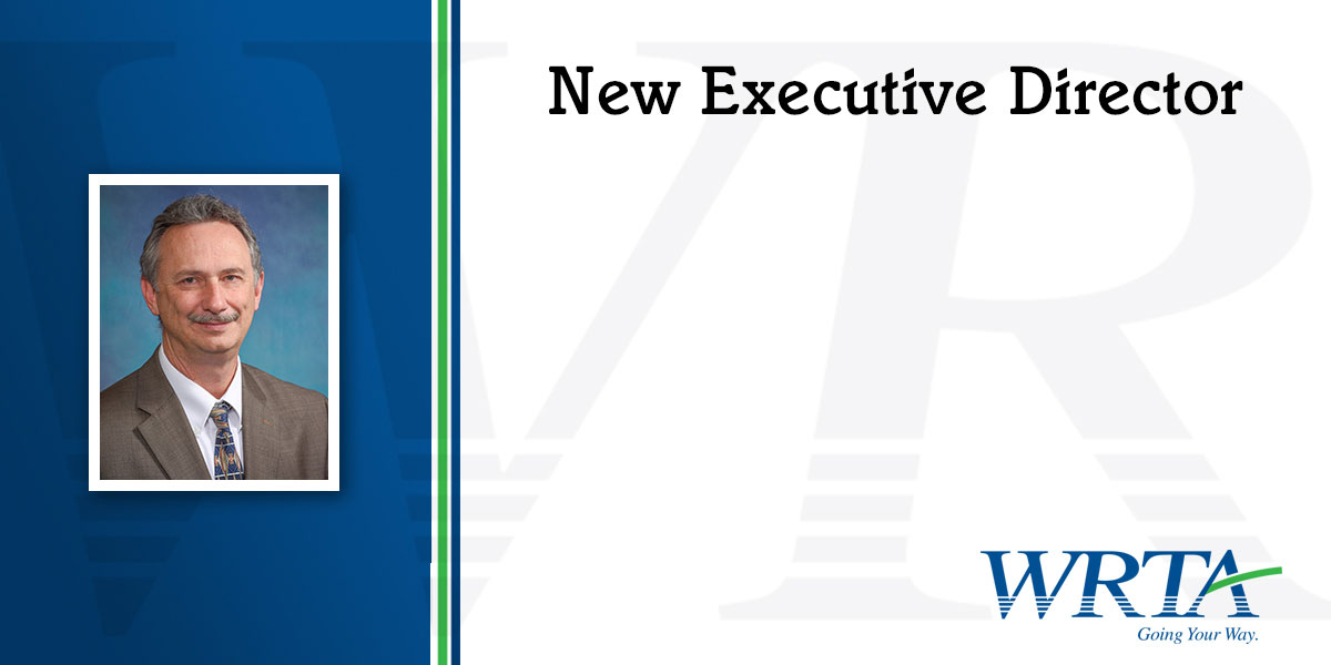 Dean J. Harris Named New WRTA Executive Director