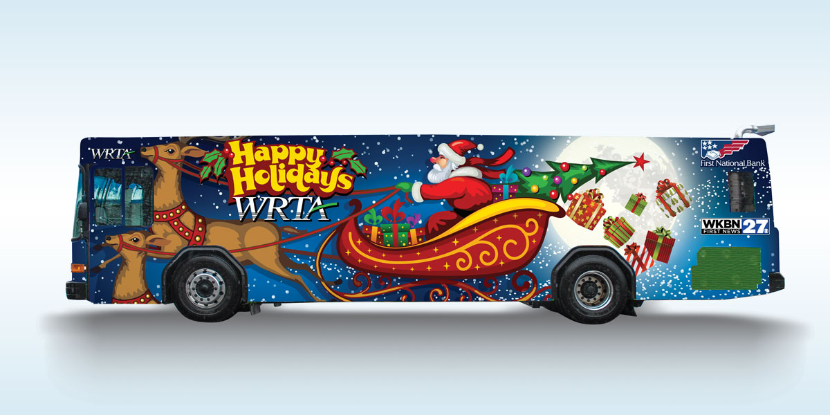 The WRTA Holiday Bus