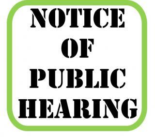 notice-of-public-hearing