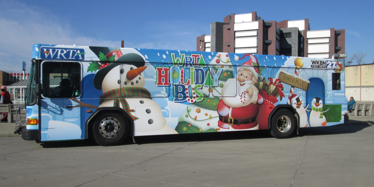 WRTA Holiday Bus