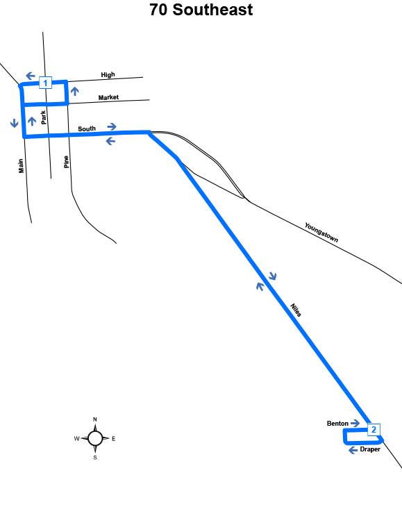 Route #70 Southeast (Warren)