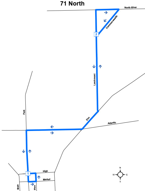 Route #71 North (Warren)