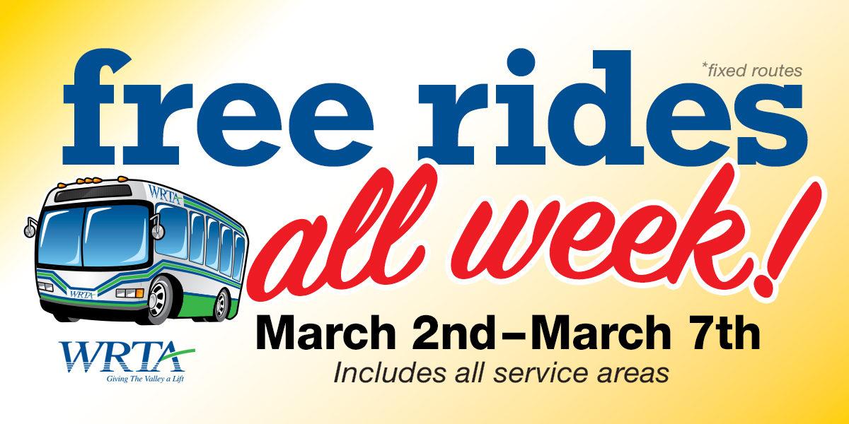 Free Rides All Week
