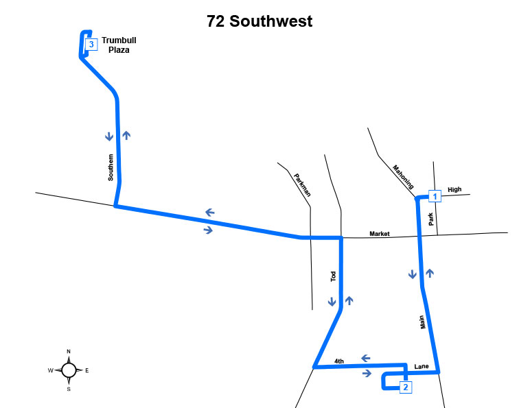 Route #72 Southwest (Warren)