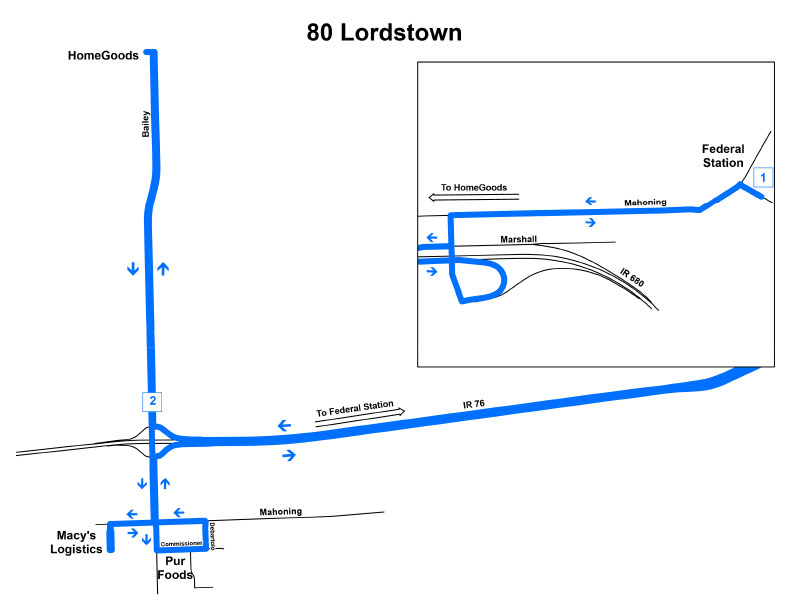 Route #80 Lordstown Express
