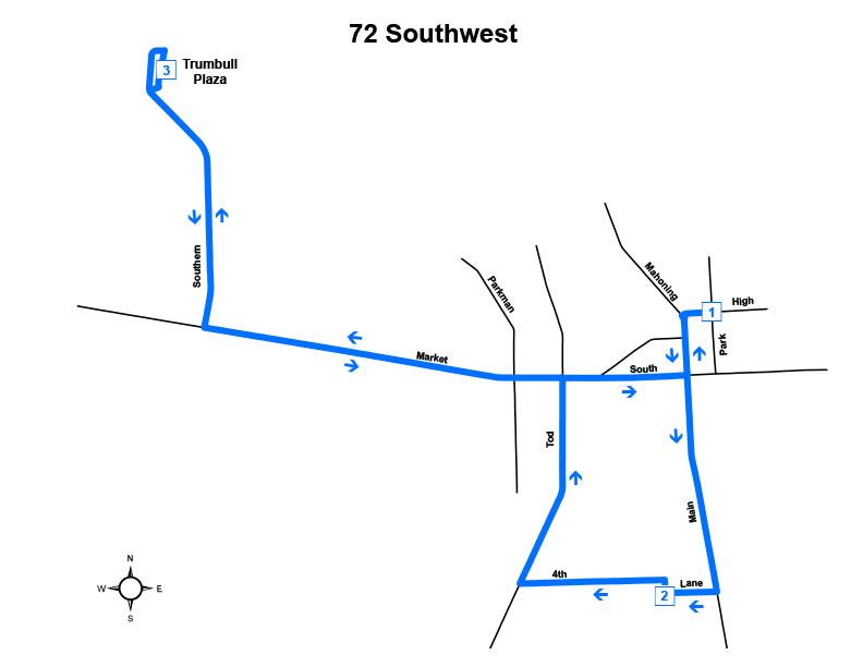 Route #72 Southwest (Warren)
